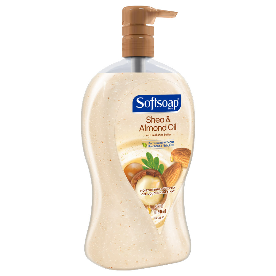 Softsoap Shea & Almond Oil 32oz side view